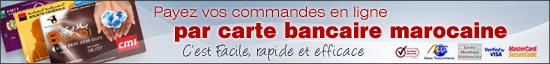 paiement en ligne par carte bancaire marocaine